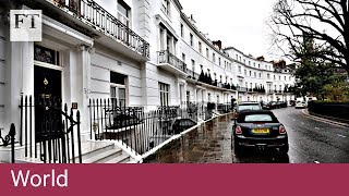 London prime property hit by steep price falls