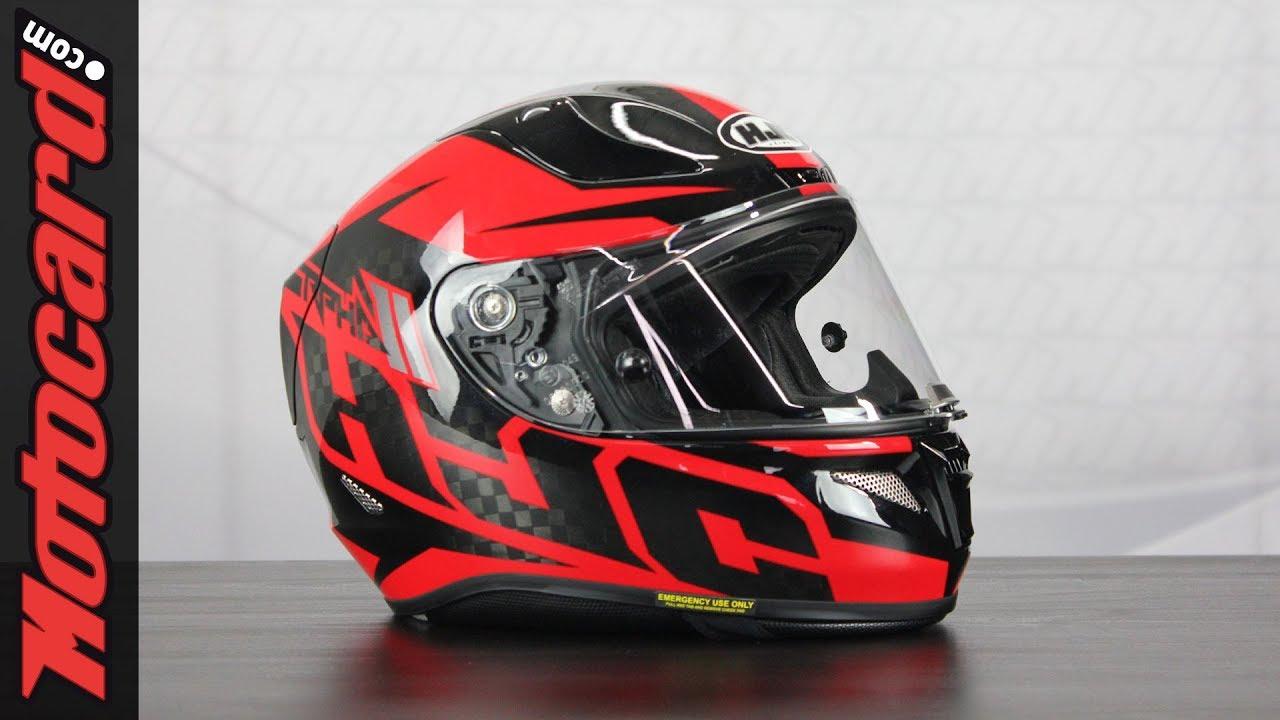 4aceeee9aa48a HJC RPHA 11 Carbon  análisis del casco en Motocard.com - YouTube