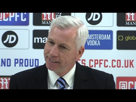 Crystal Palace 1-2 Manchester United - Alan Pardew Full Post Match Press Conference