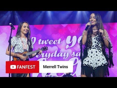 MERRELL TWINS @ YouTube FanFest Jakarta 2018