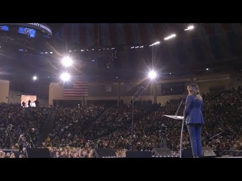 first-lady-melania-trump-delivers-remarks-at-liberty-university