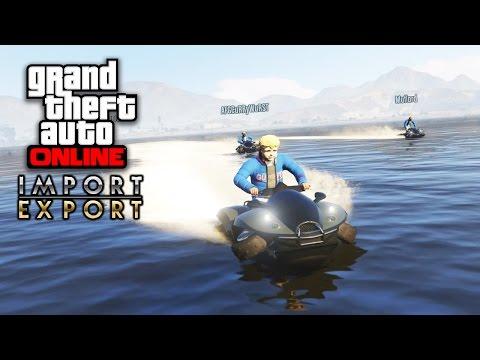 GTA ONLINE IMPORT/EXPORT - Spezial-Mission: AQUA-Quad