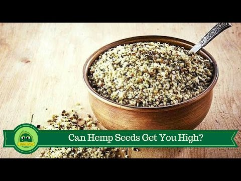 Will I Get High From Eating Hemp Seeds?