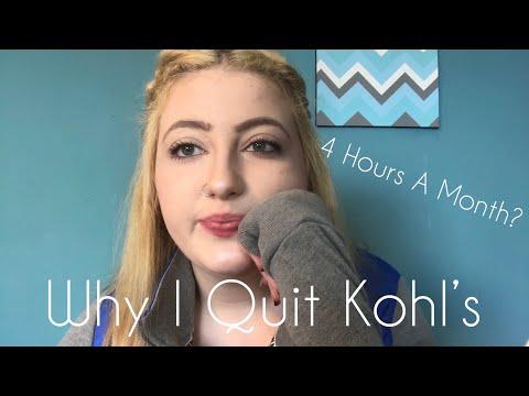 Why I Quit Kohl's