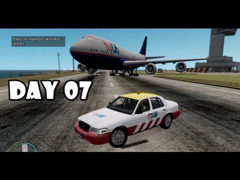GTA IV: LCPDFR Day 07 - Airport Security Patrol (FlyUs)