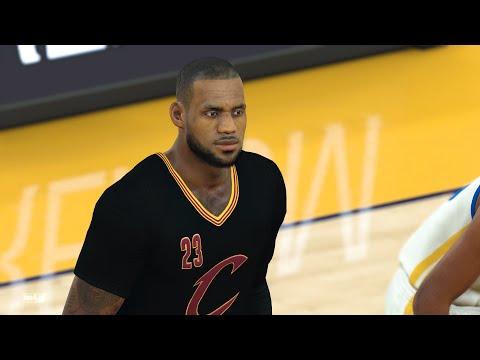 NBA 2k17: Cleveland Cavaliers vs Golden State Warriors | Full Game (1080p 60fps)