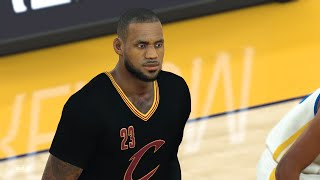 NBA 2k17: Cleveland Cavaliers vs Golden State Warriors | Full Game (1080p 60fps)