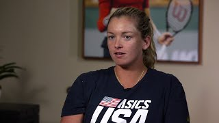 USTA Pro Player Highlights: CoCo Vandeweghe Tells Larry King Her Toughest Opponents