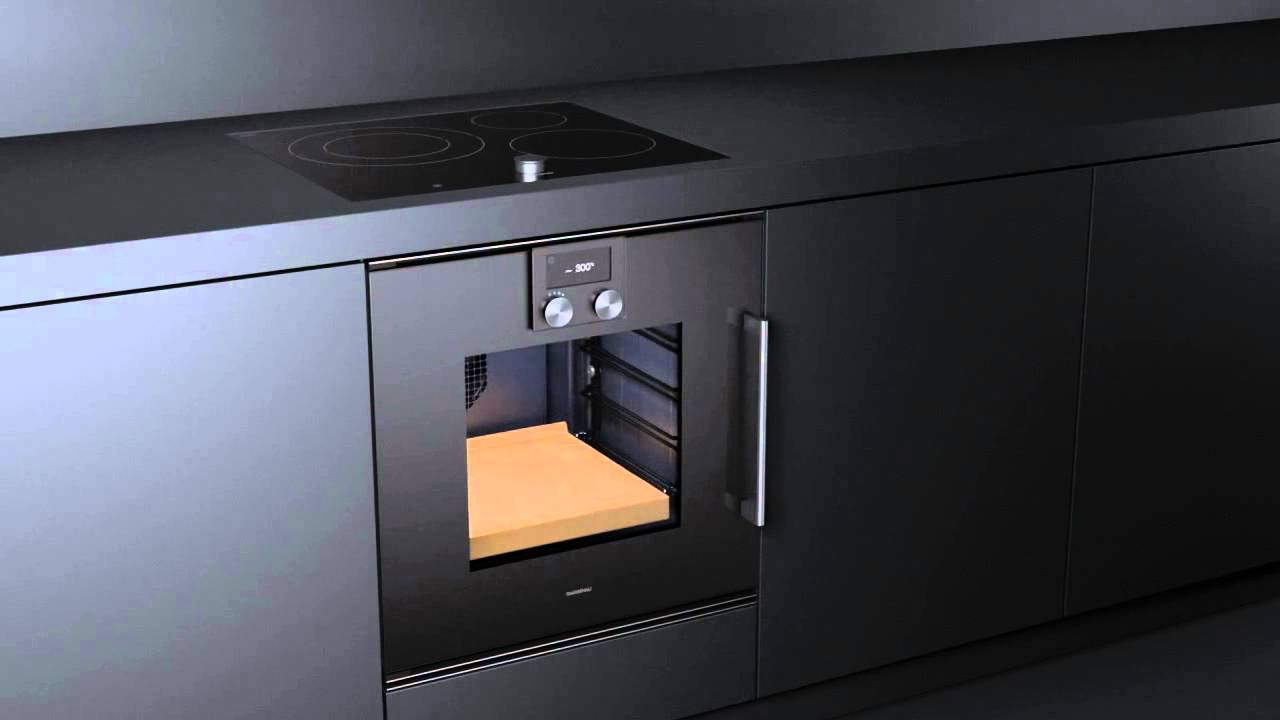 gaggenau backofen serie 200 erh ltlich bei moebelplus youtube. Black Bedroom Furniture Sets. Home Design Ideas