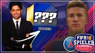 PSG-BOSS MACHT MIR EIN MEGA-GESCHENK!!! 😍🎁🔥 - FIFA 18 Spielerkarriere mit STORY #32 (Deutsch)