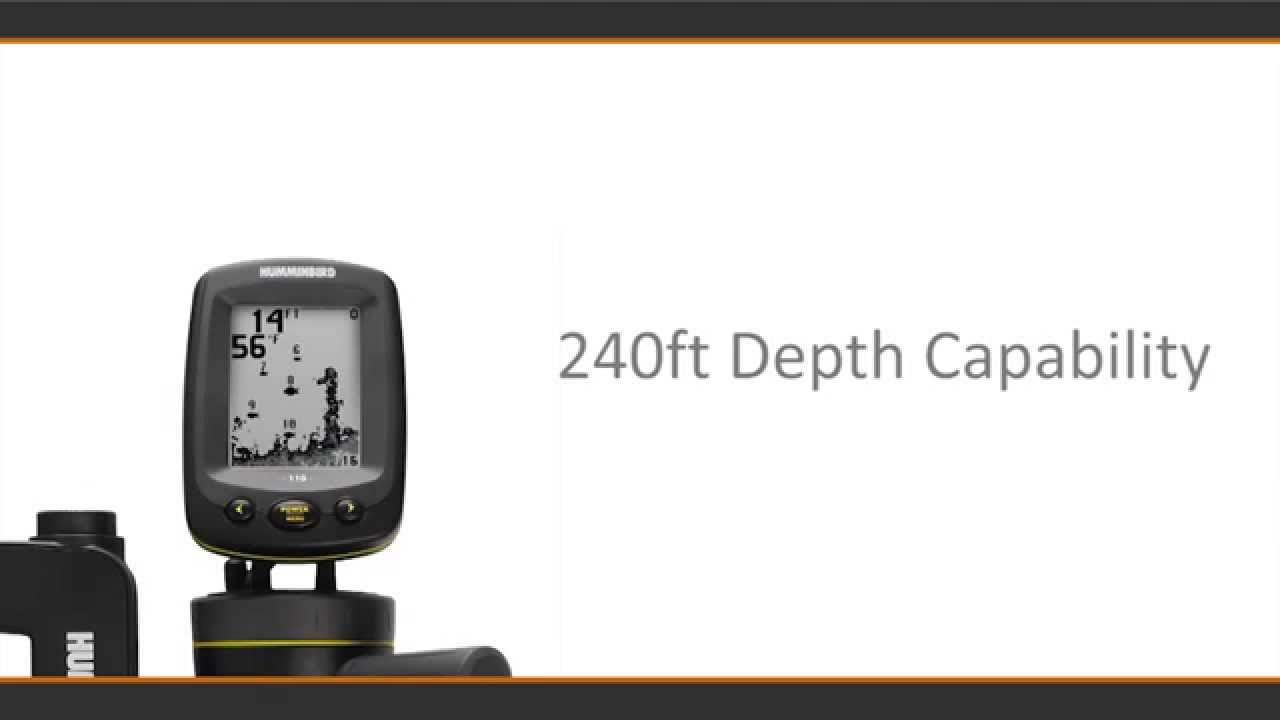 humminbird | 110 fishin buddy, Fish Finder