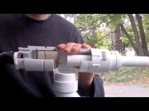 Piston Operated Air Cannon Reservoir Test - YouTube