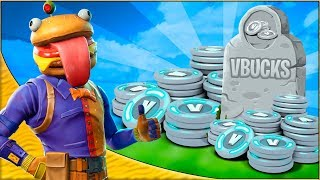 R.I.P 1500 V-BUCKS! | Dansk Fortnite