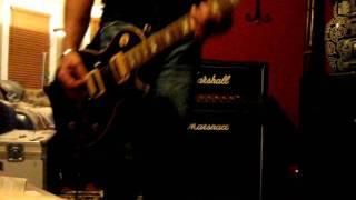 KISS Strange Ways Stoner Rock Rhythm Guitar Cover