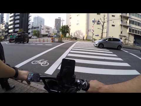 Cycling in Osaka: Hommachi Dori _ Utsubohonmachi _ Ōsaka-fu