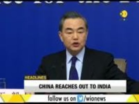 Chinese foreign minister: China - India relationship will continue to grow