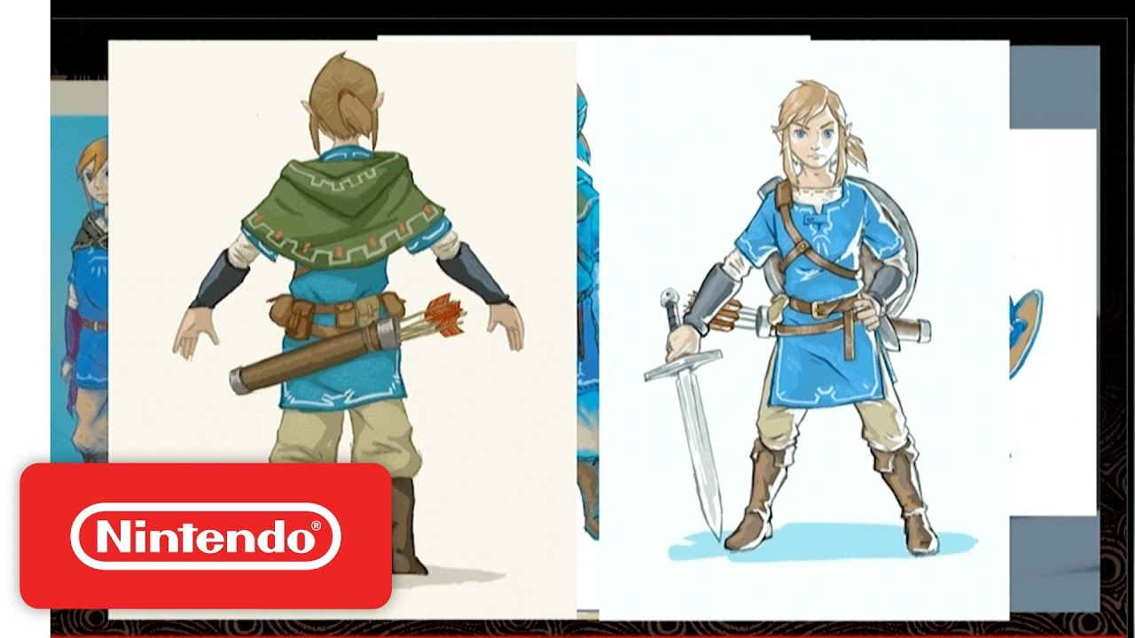 Breath Of The Wild Concept Art Link Arm