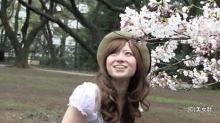 今月の美女暦は、「お花見美女」特集! 日本の最強文化「お花見」をフュ...