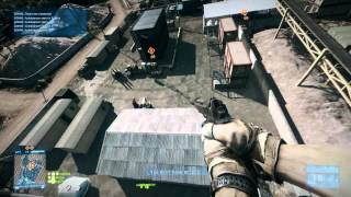 BF3 Rocket Jump over 1000meters! World Record Rocket Jump!