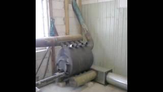видео Воздушное отопление для коттеджей