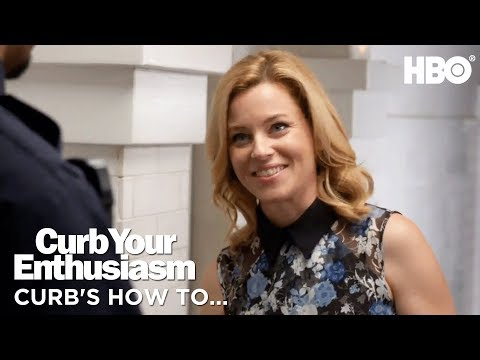 How To Get Out Of A Sticky Situation ft. Elizabeth Banks | Curb Your Enthusiasm | Season 9