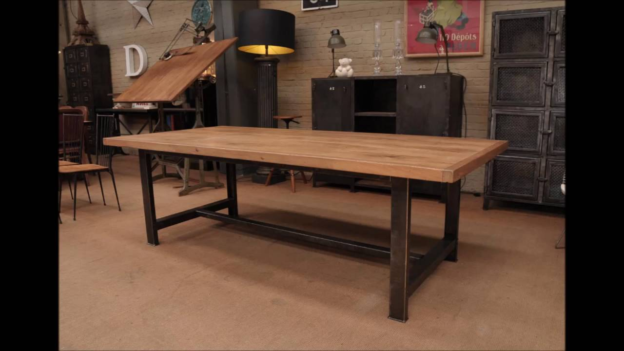 industrial dining table. Industrial Dining Table N