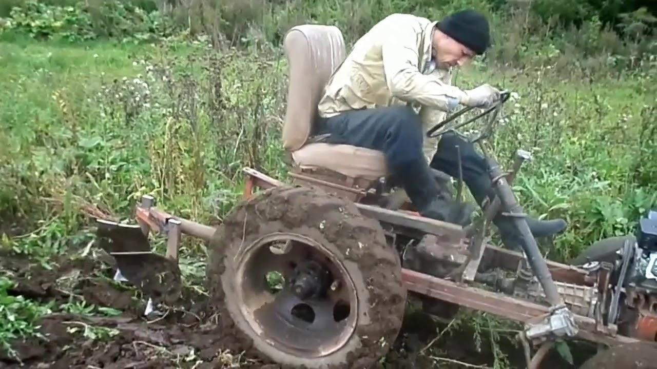 Самодельный трактор Андрея Эткеева