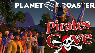 planet coaster gameplay part 3 building the pirates cove let s play planet coaster