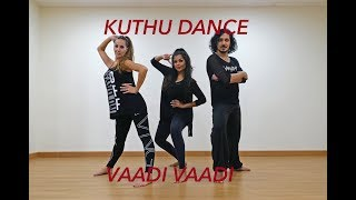 Gambar cover Kuthu dance VAADI VAADI   Sachien   DANCE cover   Vijay   Vinatha & company