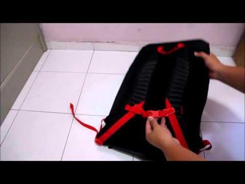 80d2333ff Nike LeBron Max Air Ambassador Backpack 2.0 Review BA5111-010 - YouTube