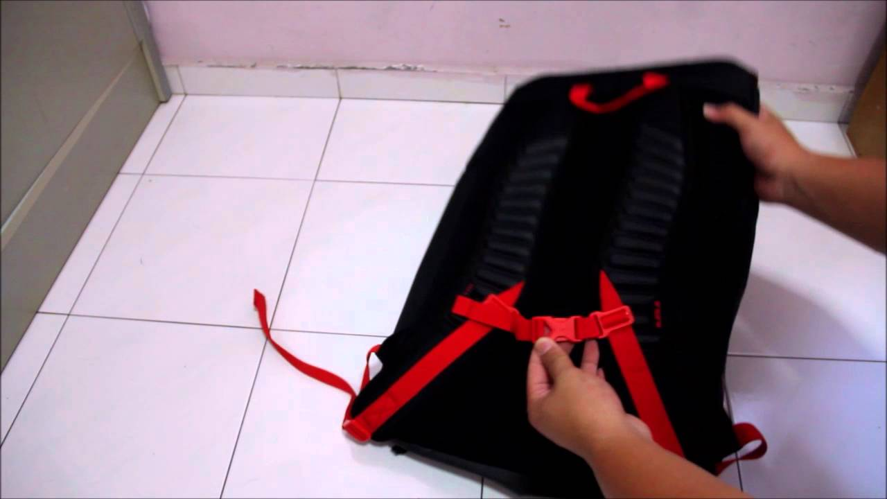 fc2537764daf Nike LeBron Max Air Ambassador Backpack 2.0 Review BA5111-010 - YouTube