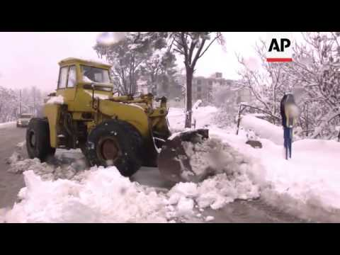 Two Reported Dead As Bad Weather Hits Lebanon