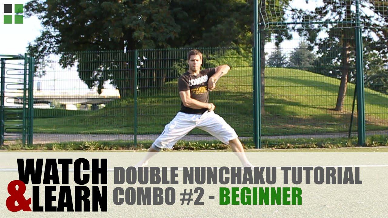 Watch and learn nunchaku weapon