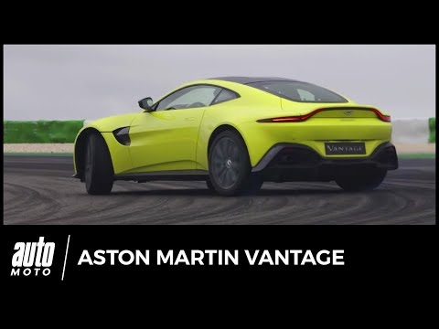 Aston Martin Vantage 2018 - POV : test à Portimão