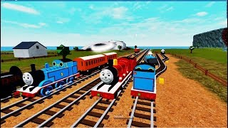 THOMAS AND FRIENDS The World Of Thomas 3 ROBLOX!
