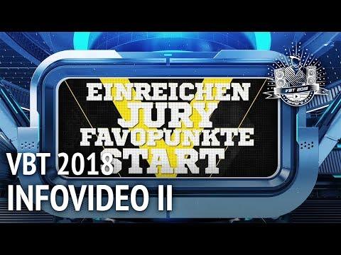 VBT 2018 Infovideo: Einreichen, Jury, Start Der Battles