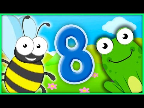 The Number 8 | Number Songs By BubblePopBox | Learn The Number Eight