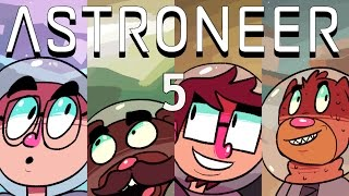 Let's Play - Astroneer! - Episode 5 [Trade Platform]