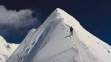 NEPAL Himalaya ISLAND PEAK  (imja tse) summit 6189m  Ну мы в расчете!:)