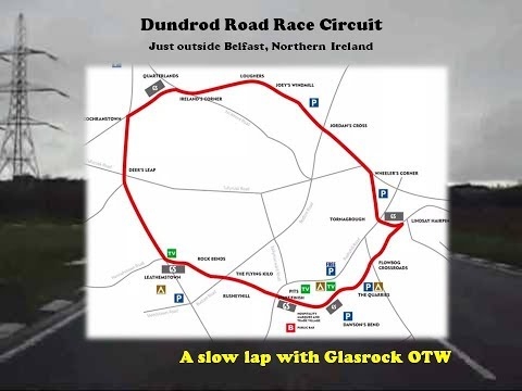 A LAP OF DUNDROD ROAD RACE CIRCUIT