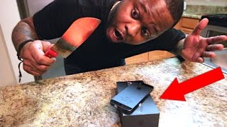 EXPERIMENT Glowing 1000 degree KNIFE VS IPHONE!!