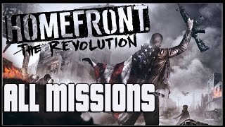 Homefront The Revolution Full Game Walkthrough Gameplay No Commentary (PC)