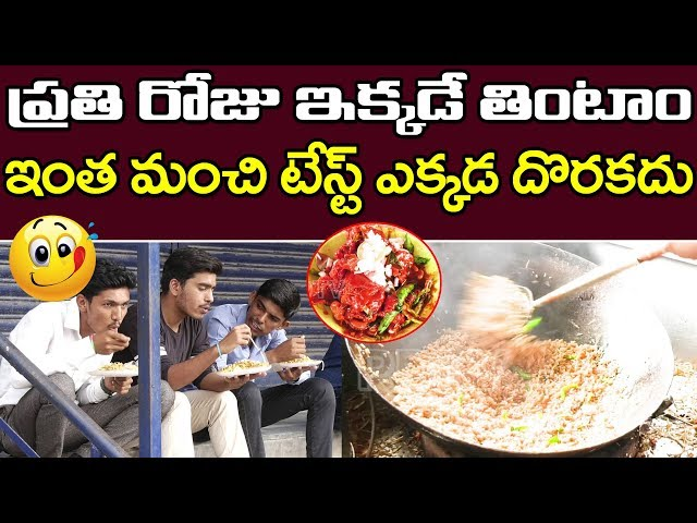 Famous Fast Food Center in Ameerpet | Noodles | Fride Rice | Hyderabad Street Food | PDTV Foods