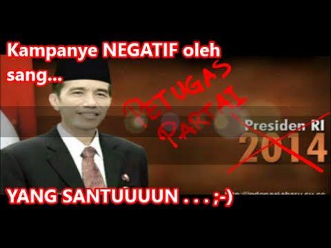 Jokowi Menganjurkan Kampanye yang Santun #JanganTipuRakyat
