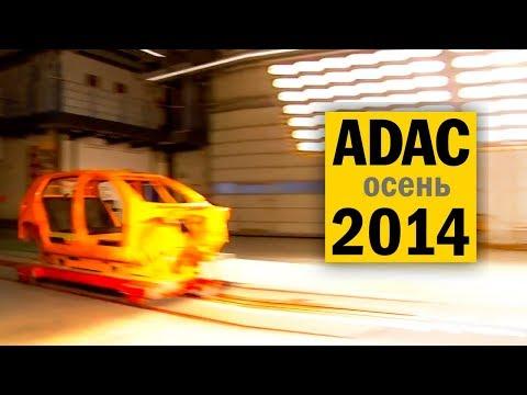 Краш-тесты дешевых автокресел ADAC 2014#2 на русском