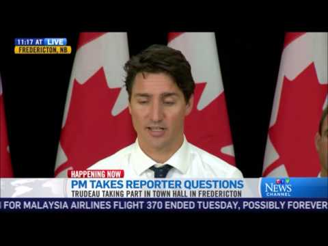 Prime Minister Trudeau Has A Complete Brain Fart