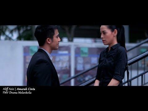 (OST MELANKOLIA) Aliff Aziz - Amarah Cinta (Lyric Video)
