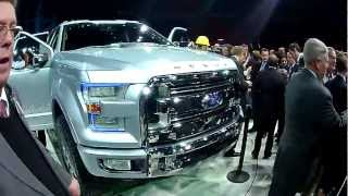 Ford Motor Company NAIAS 2013 Press Conf Atlas Truck Concept Tour 1-15-13
