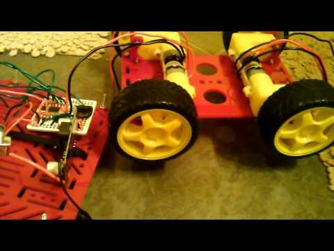 Raspbery Rover Motor Control