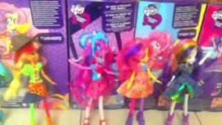 vuclip My little pony Equestria girls -Canción de la cafetería.